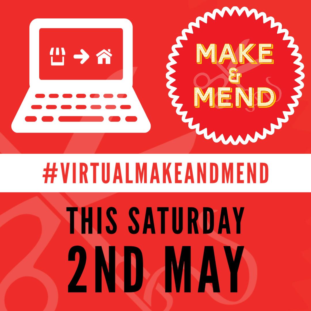 Make & Mend Market May 2020 #virtualmakeandmend