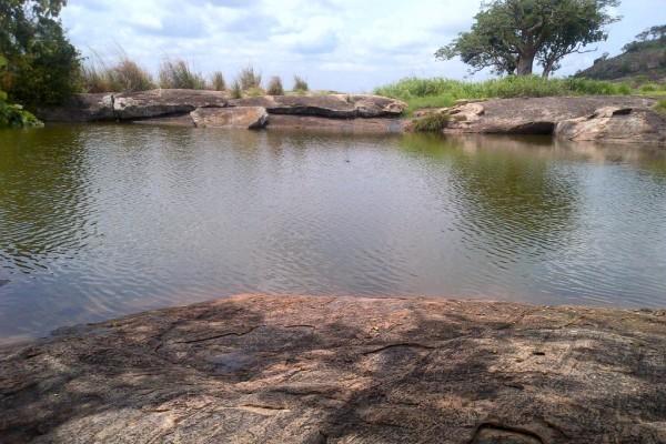 Ado- Awaiye suspended lake
