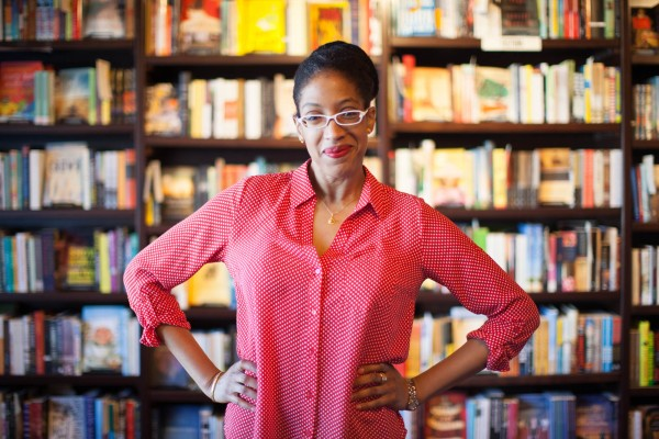 Enuma in bookstore