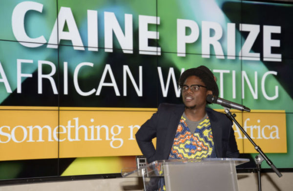 4/7/16 - Oxford The Caine Prize For African Writing Winner of the 2016 Caine Prize, Lidudumalingani.