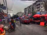 The market street near my uni
