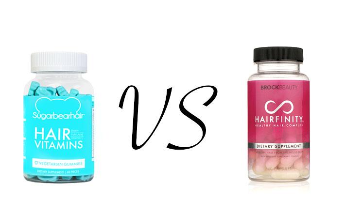 Sugar Bear Hair VS Hairfinity Brittwd
