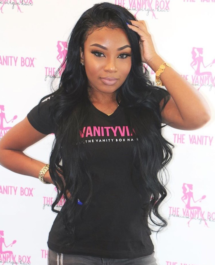 Attractive Aaliyah Jay For The Vanity Box