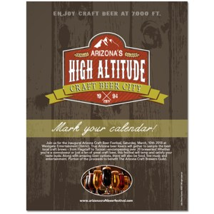 craft beer arizona advertising