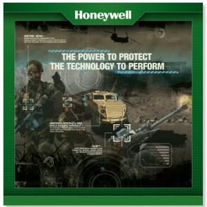 HONEYWELL defense trade show poster