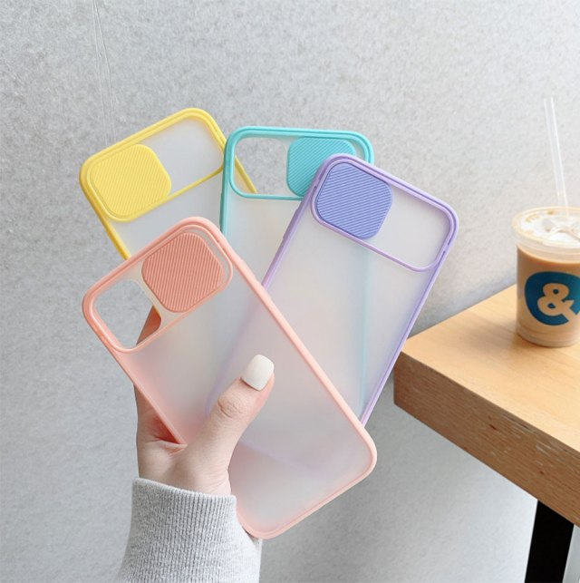 Candy Coloured Smartphone Case with Camera Protection