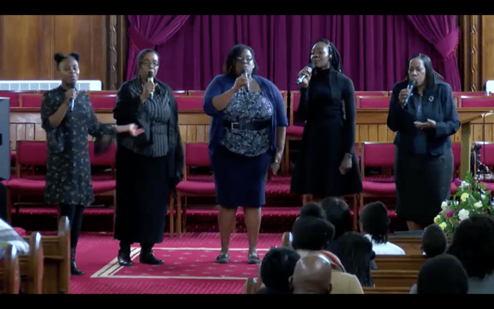 End of Year Service 2017 Image