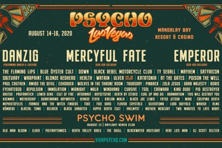 BRMC added to Psycho Las Vegas 2020