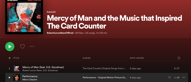 Mercy of Man and the Music that Inspired...