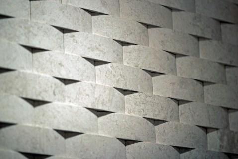 Detail - 3D Limestone Tile