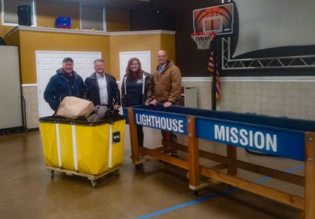 BRNSC Mid-Winter Coat Drive for Lighthouse Mission in East Patchogue