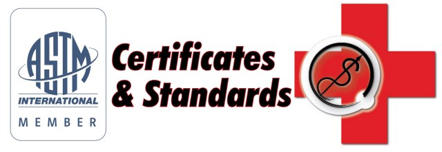 ASTM member and Logo certification