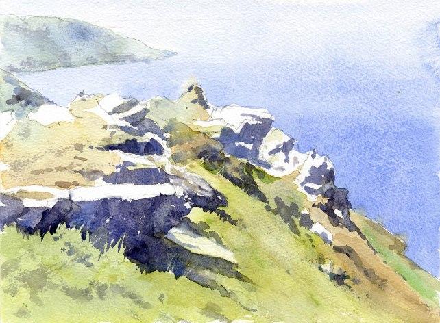 Coastal rocks, Devon
