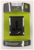 World Twin USB Black