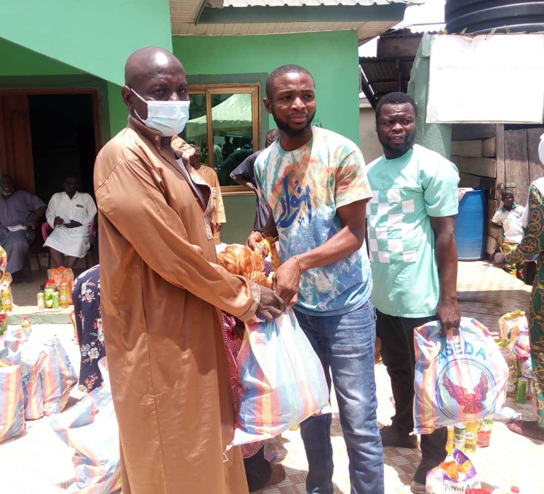 EID Feast Ghana Donates Ghs 8,000 Food Items To Muslims
