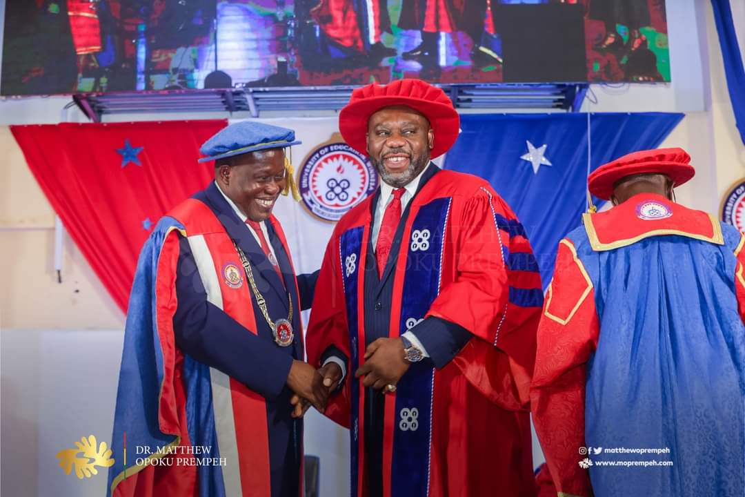 Napo honoured with doctorate degree for spearheading free shs