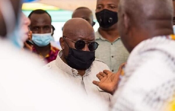 PHOTO of Kpone Chiefs & Akufo-Addo in Hot Exchange of Words Goes VIRAL -[WATCH]