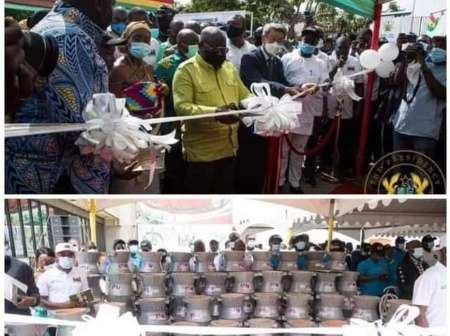 See The Local Coal Pots Akufo Addo Commissioned Which Makes Ghanaians Furious At Him -[SEE PHOTOS]