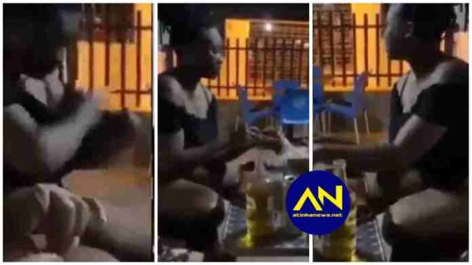 Shocking Video Of Slay Queen Steals Tilapia Into Her Bra Goes Viral -[WATCH VIDEO]