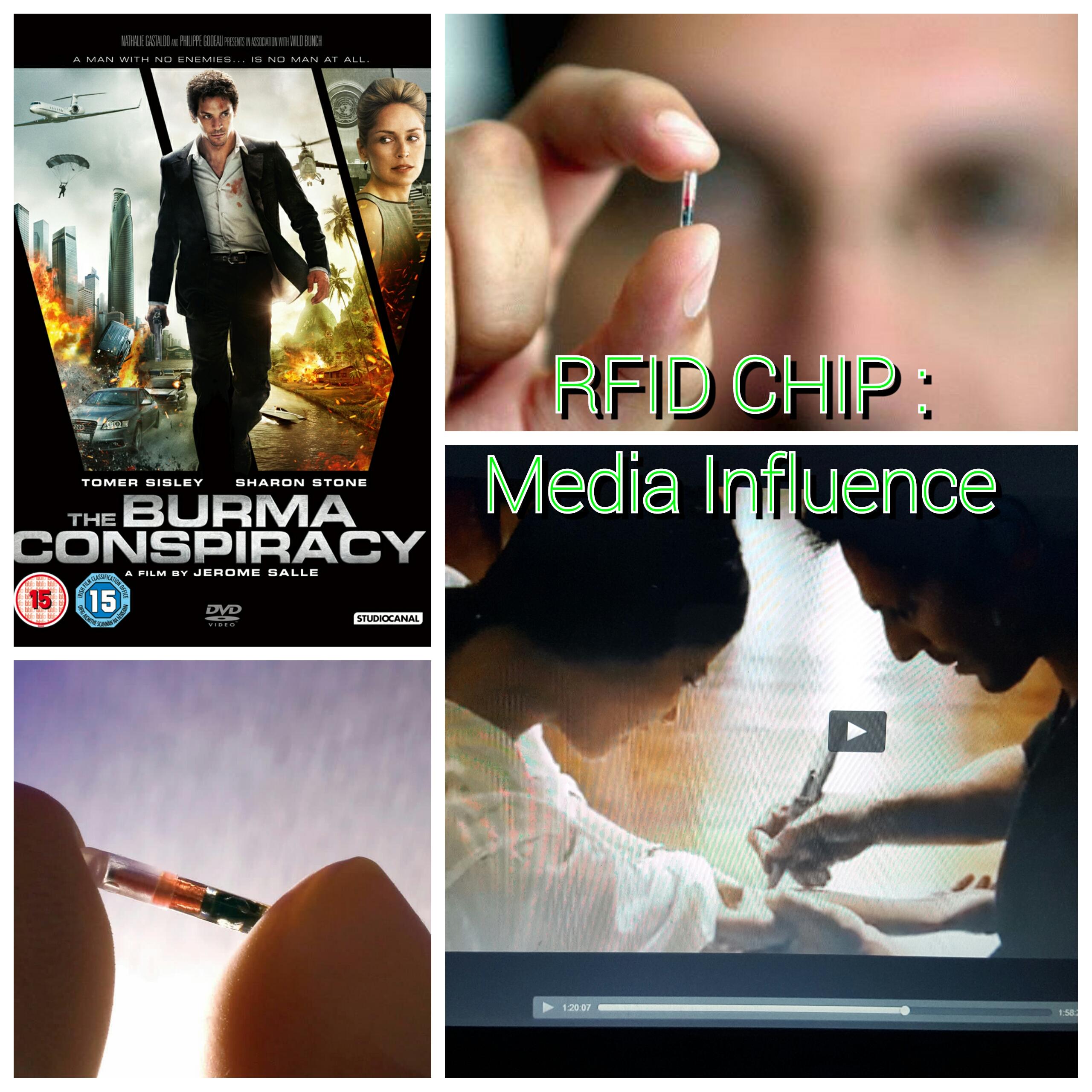 RFID CHIP at Hollywood