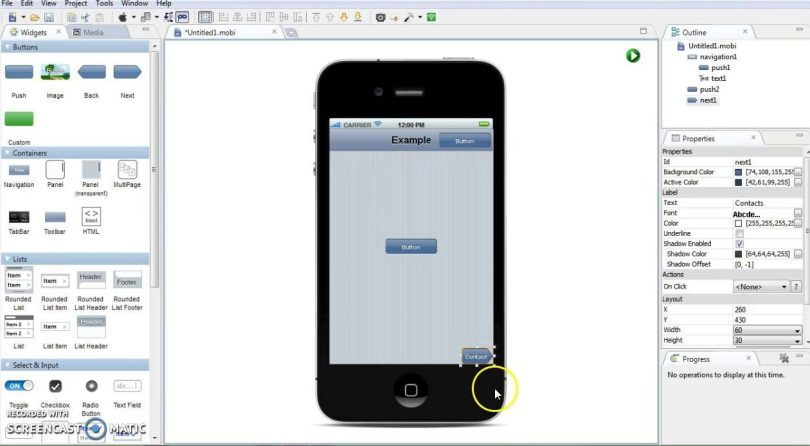 ios emulator-MobiOne Studio