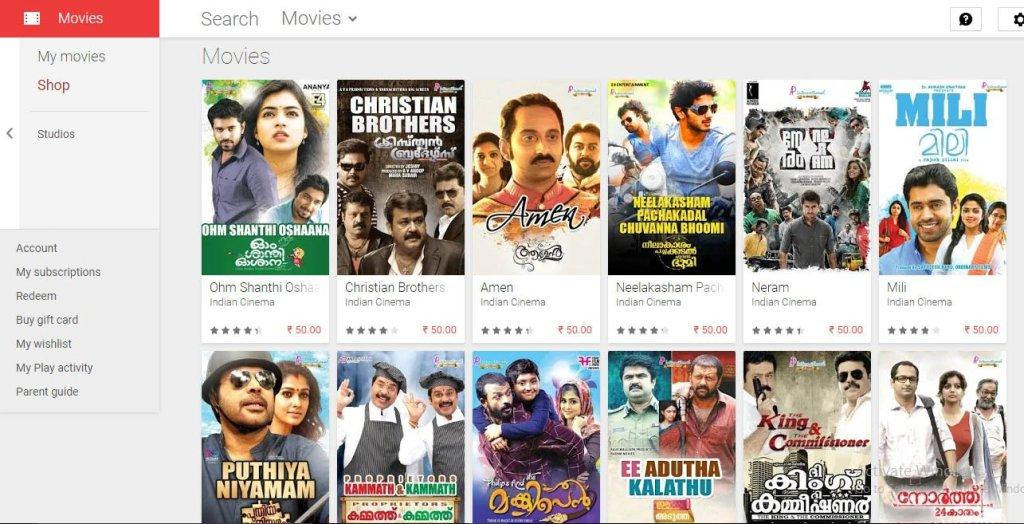Download new malayalam  movies