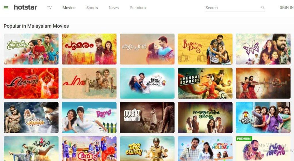Malayalam movie download hotstar