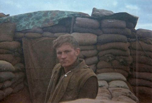 Ken Rodgers at Khe Sanh (1968)