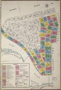 Sanborn map of NYC