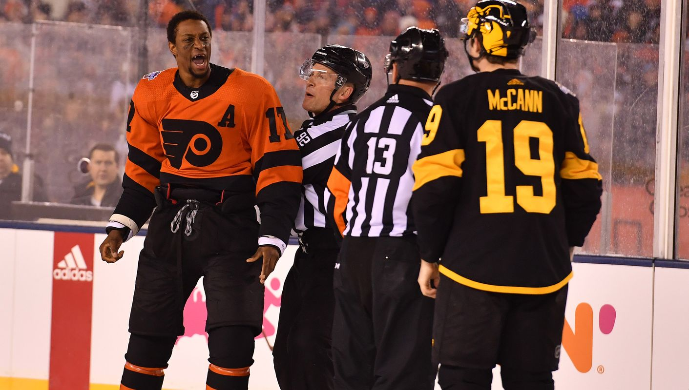 7fbb55916 17 Unforgettable Wayne Simmonds Moments- The Broad Street Bully Podcast