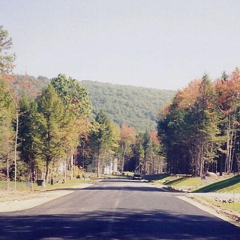 A new road in Swanzey, Arrowcrest Drive.