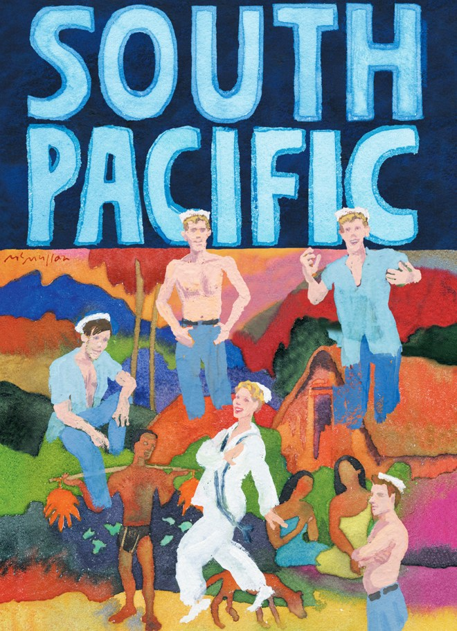 South Pacific Broadway, NYC - Lincoln Center Theater