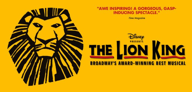 The Lion King on Broadway, NYC