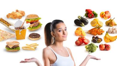 Unhealthy eating puts pressure on oneself – especially with women