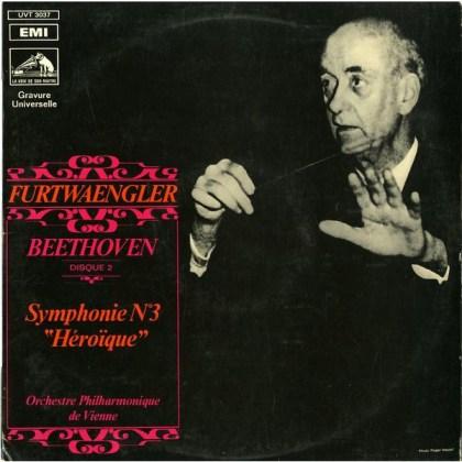 FR VSM UVT3037 フルトヴェングラー ウィーン・フィル ベートーヴェン・交響曲3番