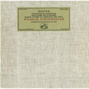 FR VSM FBLP25057 ヴィルヘルム・フルトヴェングラー ウィーン・フィル ワーグナー・序曲と管弦楽曲集