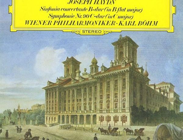 GB DGG 2530 398 カール・ベーム ウィーン・フィル ハイドン・協奏交響曲&交響曲90番