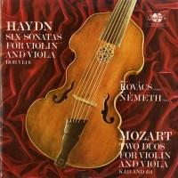 HU QUALITON LPX11426-27 デーネシュ・コヴァーチュ&ネーメト ハイドン&モーツァルト・ヴァイオリンとヴィオラのための二重ソナタ