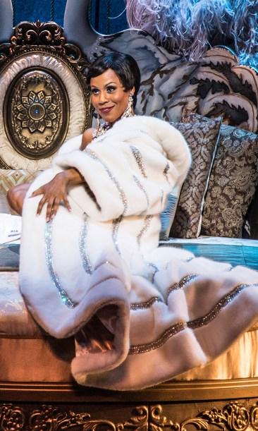 Deborah Cox in Asolo Rep's production of JOSEPHINE. Photo by Paul Tate dePoo III