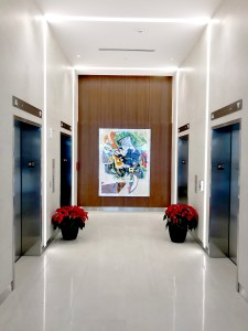 corporate art installation and consultation