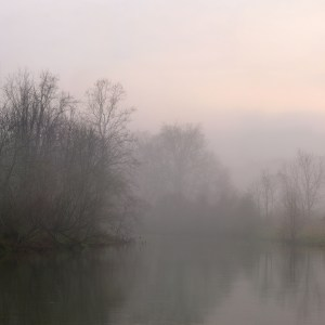 Fred Eberhart, Jackson River, Dawn, digital photograph