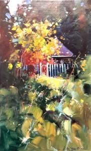 Ken Strong, Shenandoah Retreat, 36x22, Oil on canvas