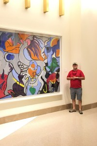Barry Broadway with Custom Framed Art at MGM Grand Casino