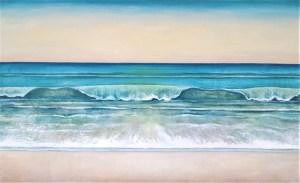 Caron Broadway Surf Side 36x52 Acrylic