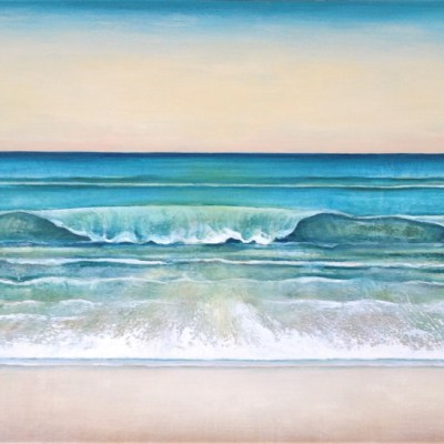 Caron Broadway Surf Side 36x52 Acrylic