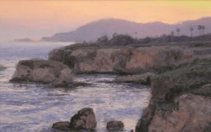 Dusk at Shell Beach 300x189