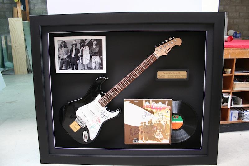 framed memorabilia 37