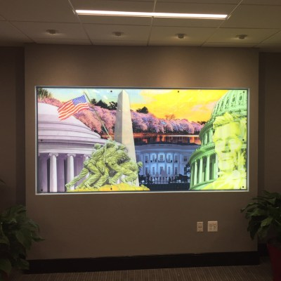 Donald Henry Dusinberre - Commissioned Digital Collage for Willard Office Building