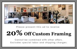 Picture Framing Coupon Alexandria