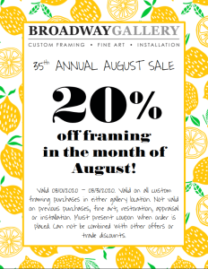 thumbnail August Sale 2020 Email Coupon